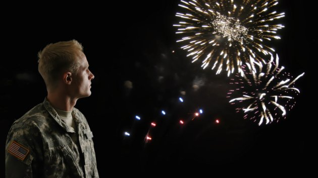 Fireworks on 4th of July can trigger PTSD for vets.