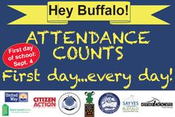 first day of school attendance awareness