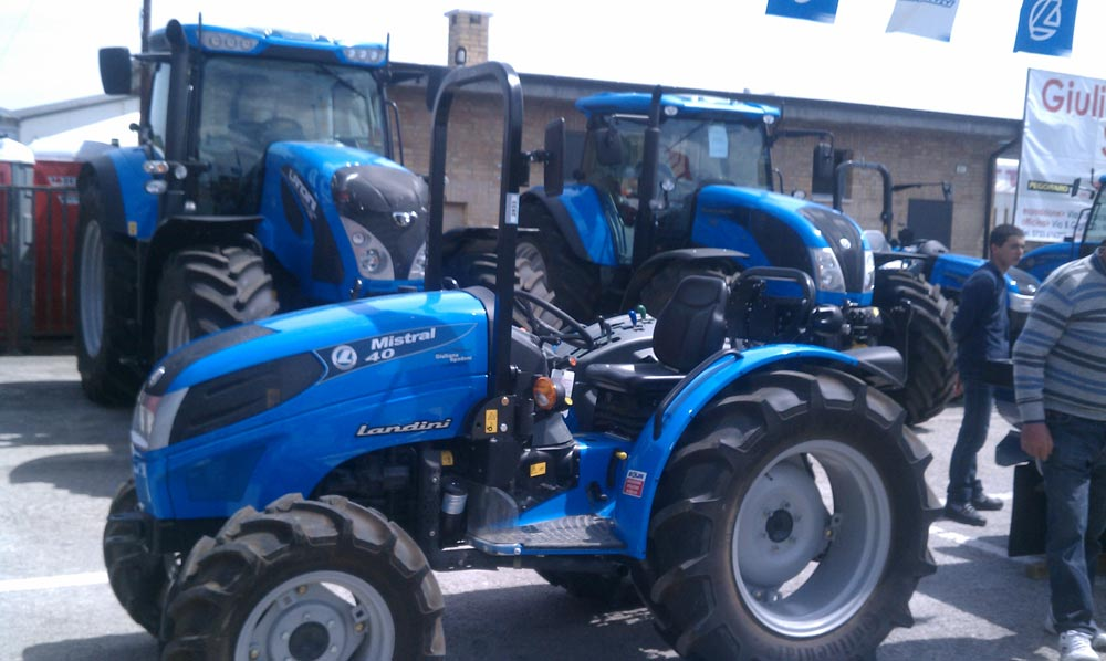 Even Italian tractors have style.