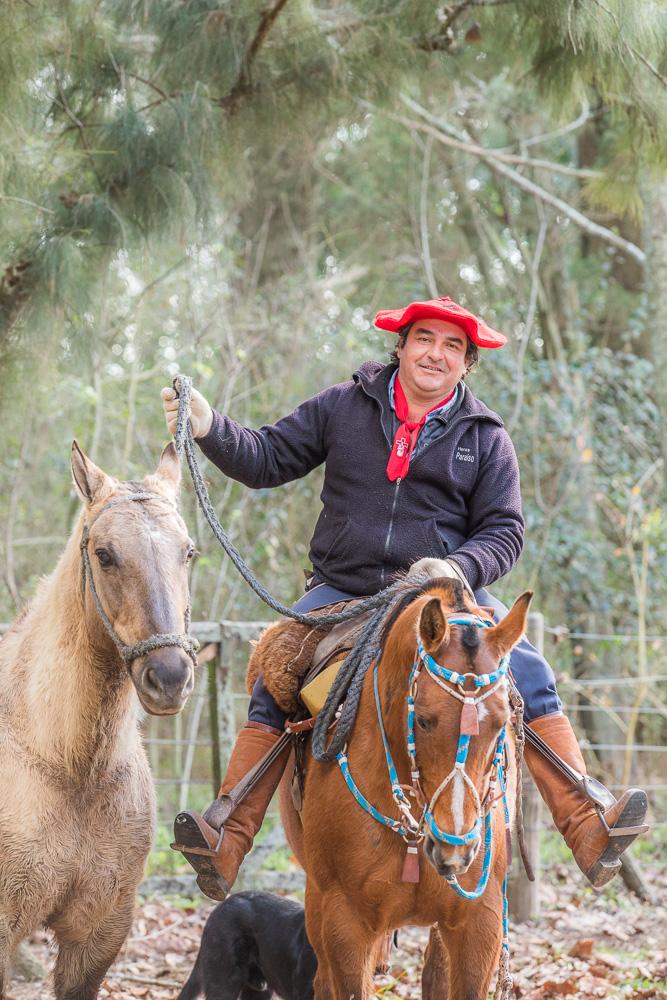 Ramon Silva, encargado de Yeguas Madres.