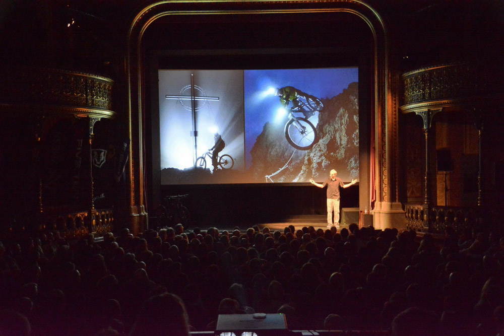 FLOW lecture in Augsburg (Germany) © Andreas Mihatsch I  Expedition Erde