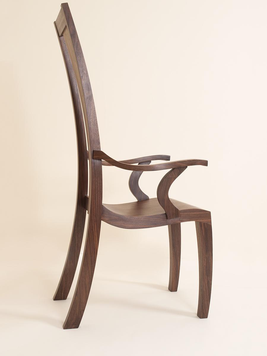 James Elliot's Walnut Chair.