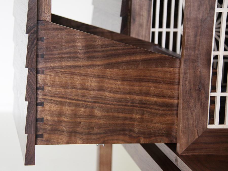 Stuart Heath's drinks cabinet.