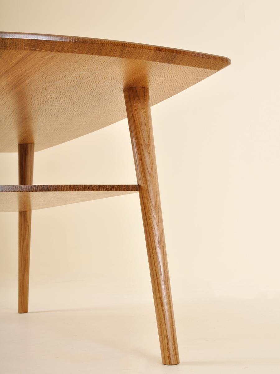 Richard Hardy's beautiful low table in quartered Oak.