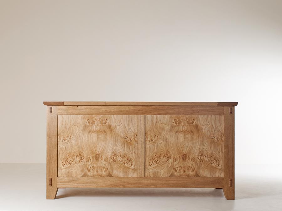 John Nolan's Pippy Oak blanket chest.