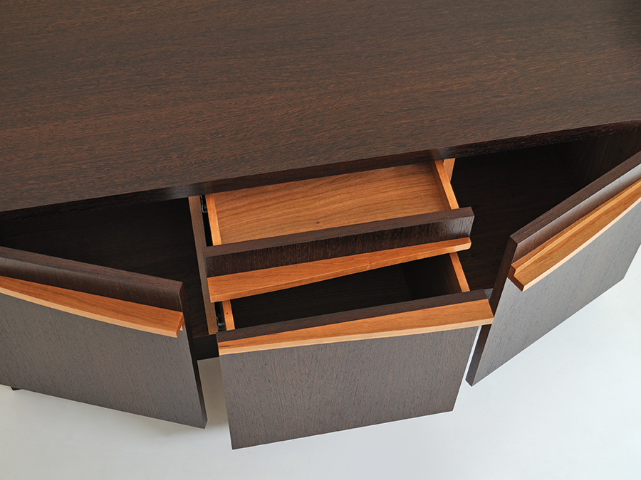 Chris Sleigh's 'Orchid' cabinet