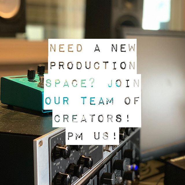 We now have 2 prod rooms availiable in addition to our studio A&B. Perfect for up and coming producers and musicans/bands, who wants to get into the music business. Leave a pm if ur interested👨🏻‍💻👩‍💻