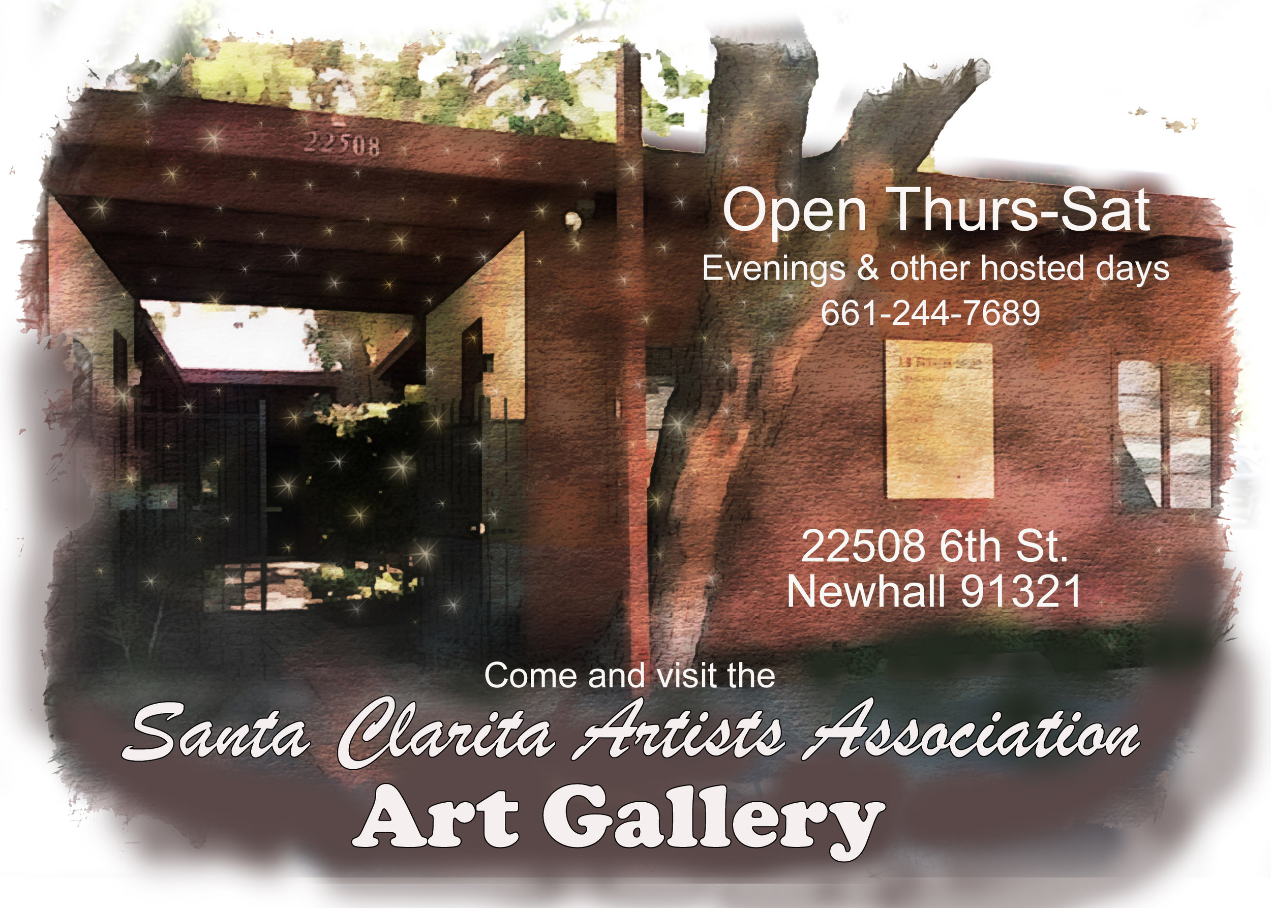 Front Entry to the SCAA Gallery