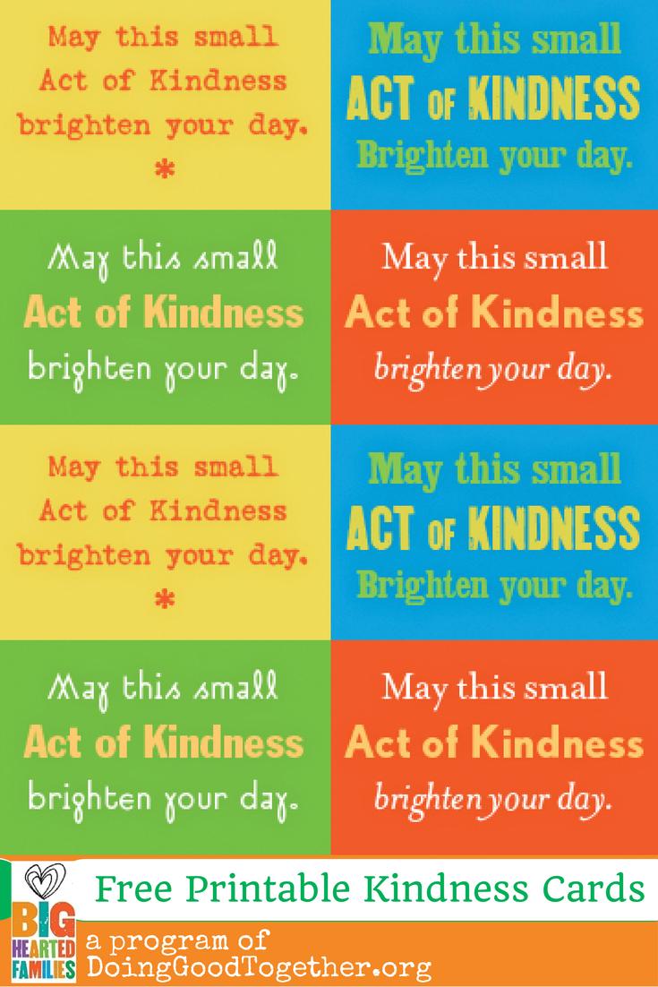 Fun Kindness Ideas