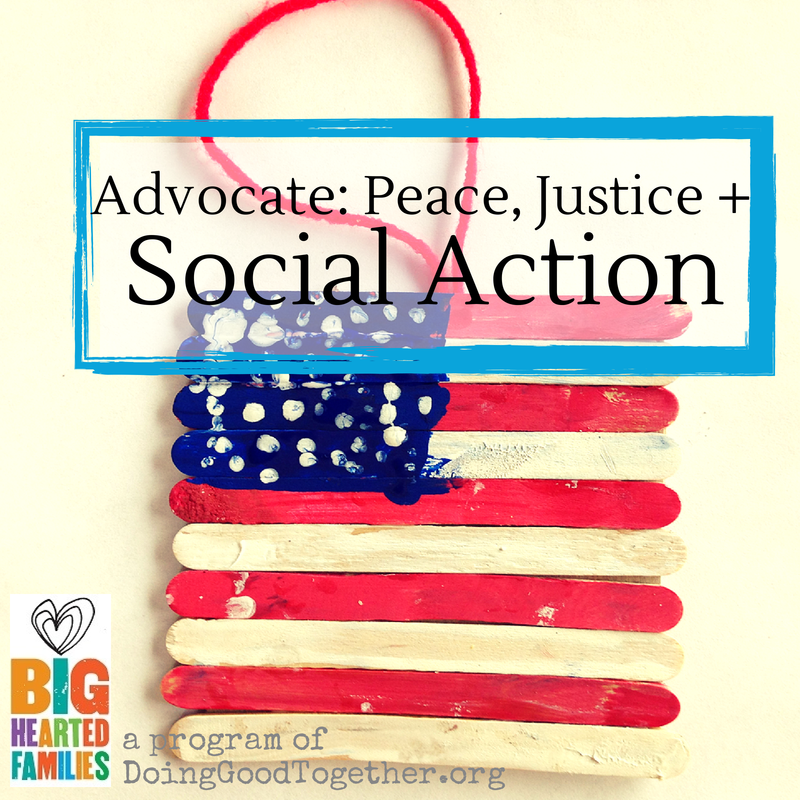 3 simple projects & 5 beautiful pictures books to practice active citizenship with kids