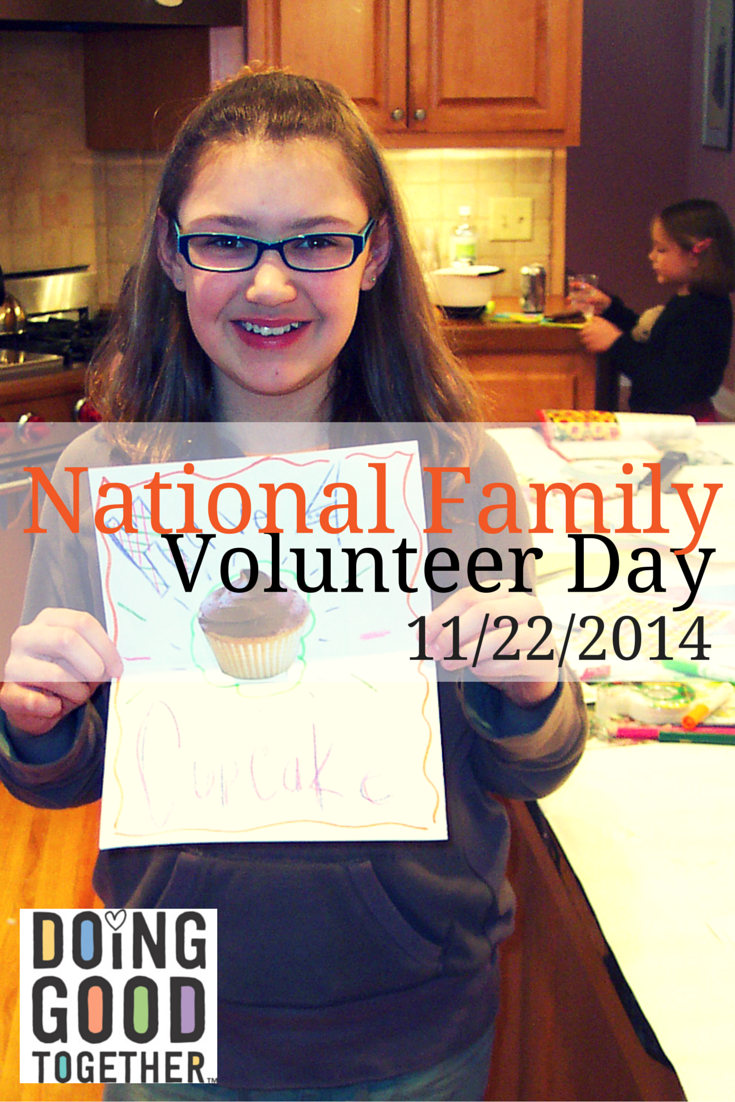 National Family Volunteer Day! November 22, 2014