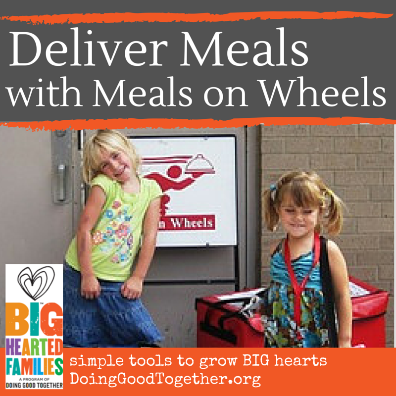 Meals on Wheels deliveries can be fun and meaningful for the whole family!