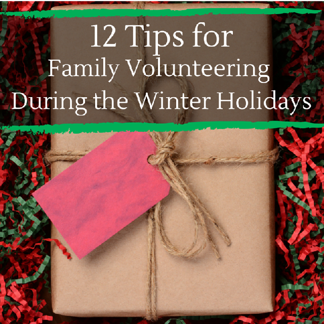12 Tips for Volunteering During the WInter Holidays