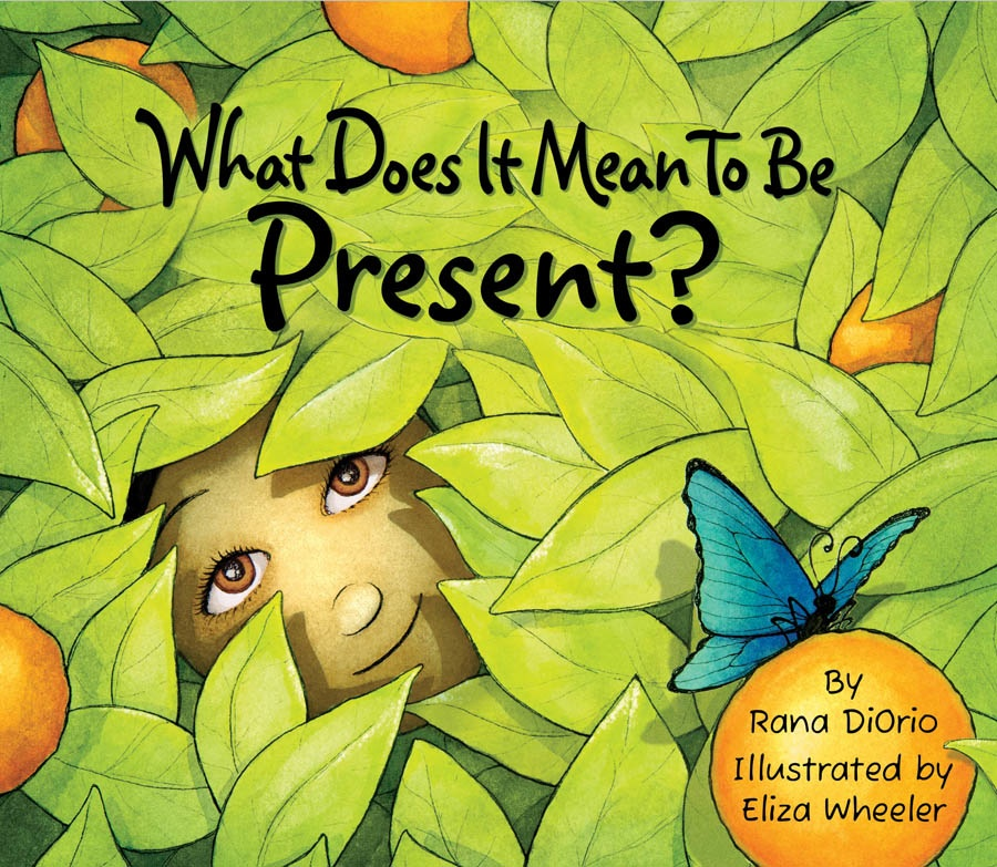What does it mean to be present - a mindful picture book recommendation from Doing Good Together