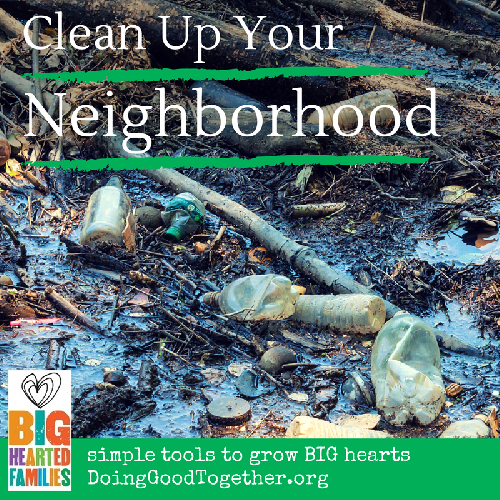 This October, take a fall walk and clean up your neighborhood along the way.
