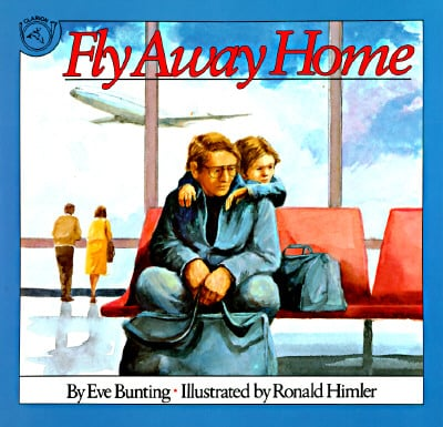 Fly Away Home - part of a growing list of books that explore hunger, poverty, and homelessness