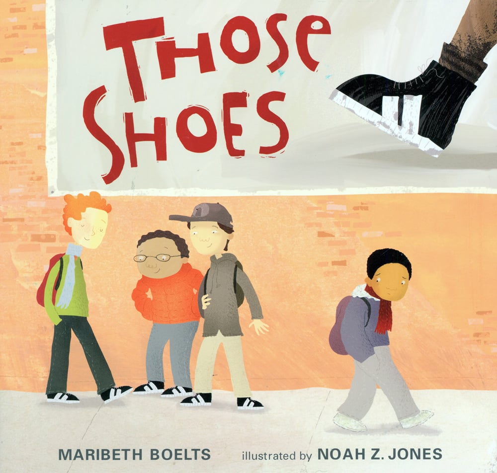 Those Shoes - part of a growing list of books exploring homelessness, hunger, and poverty