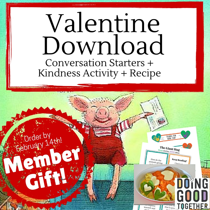 Celebrate Valentine's Day with this free gift of our Big-Hearted Families™ Membership Circle.