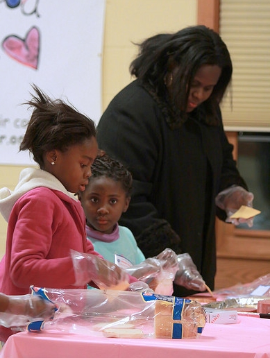 Making Sandwiches for the Hungry