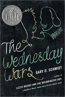 The Wednesday Wars - part of a growing list of books to teach citizenship