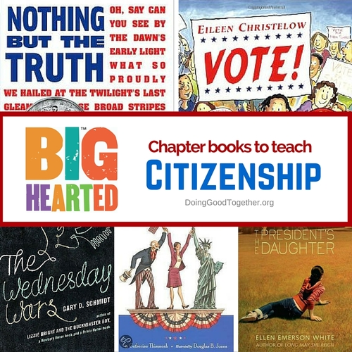 Chapter Books about Citizenship
