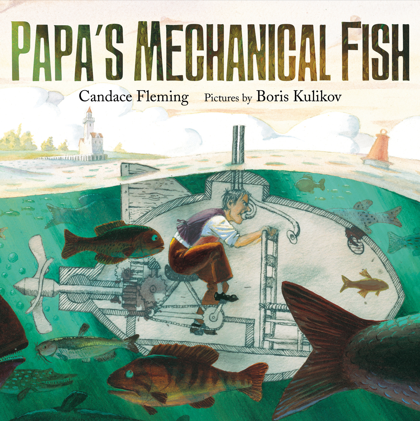 Papa's Mechanical Fish - part of a growing list of books about emotioal awareness