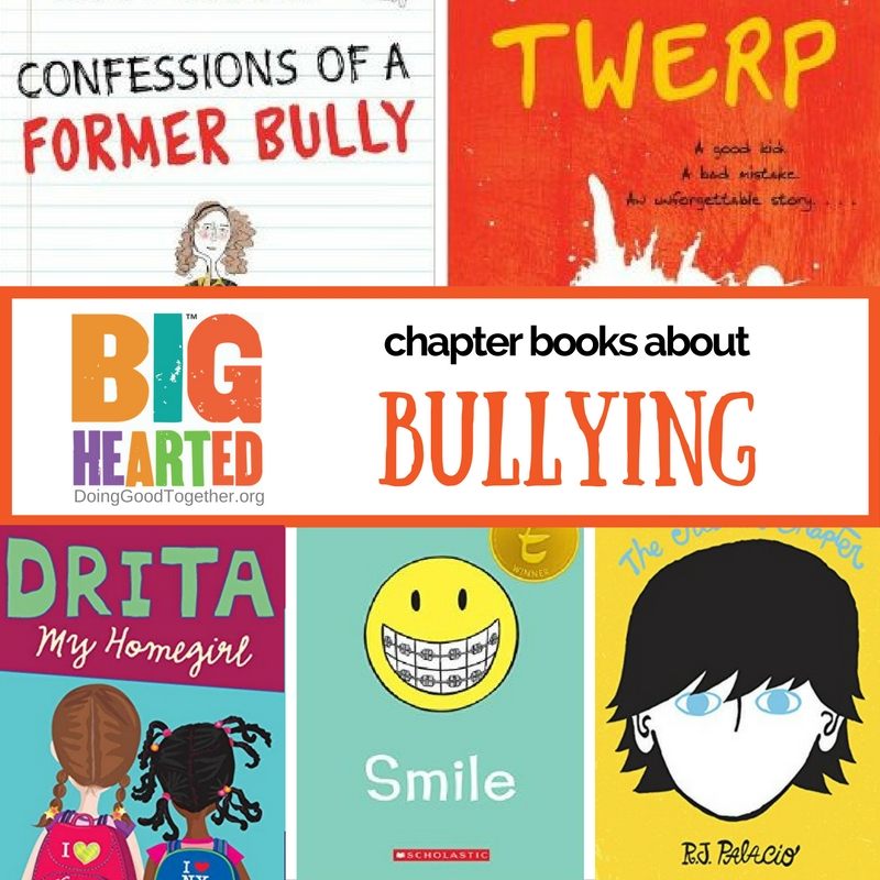 a growing list of chapter books to talk about bullying