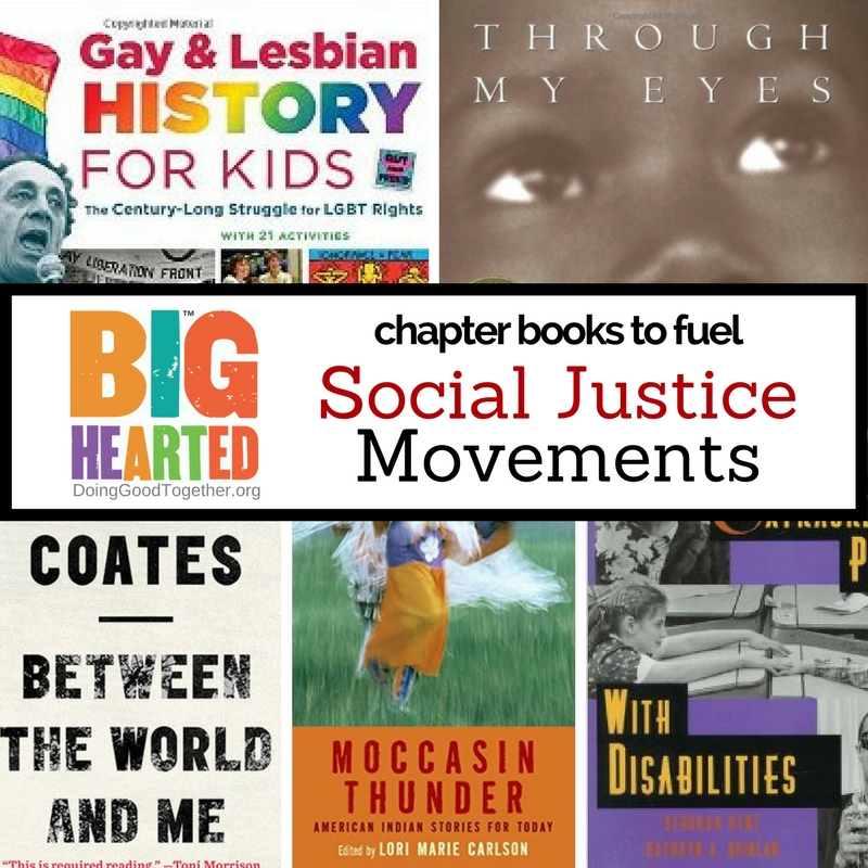 A growing list of fiction and nonfiction for older kids interested in promoting social justice.
