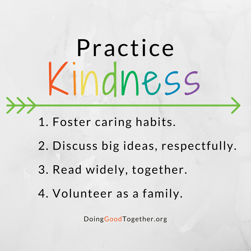Practice Kindness with Doing Good Together.org