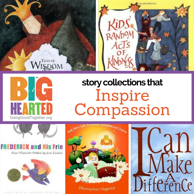Read and reflect as a family with these big-hearted literary collections.