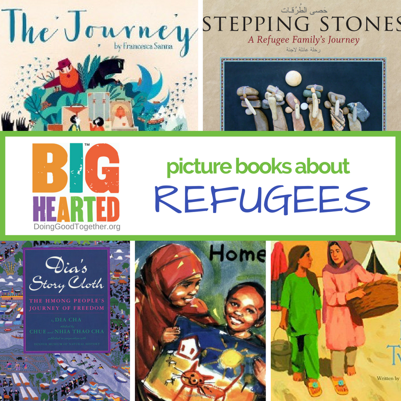 A growing list of books to build compassion and emathy for the refugee experience.
