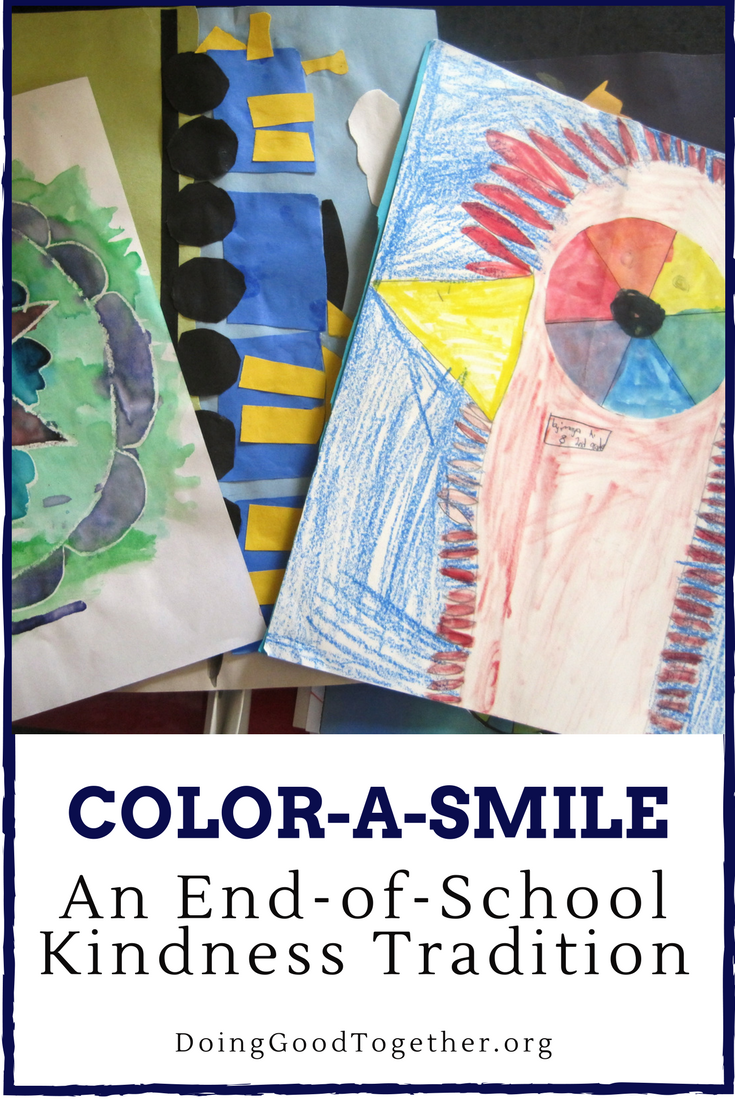 Color-a-Smile: do good with your child's drawings!