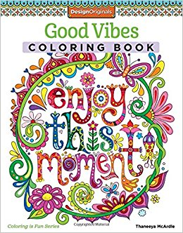 Good Vibes adult coloring book