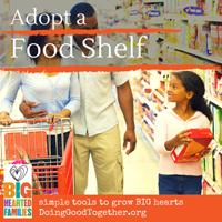 Adopt a food shelf