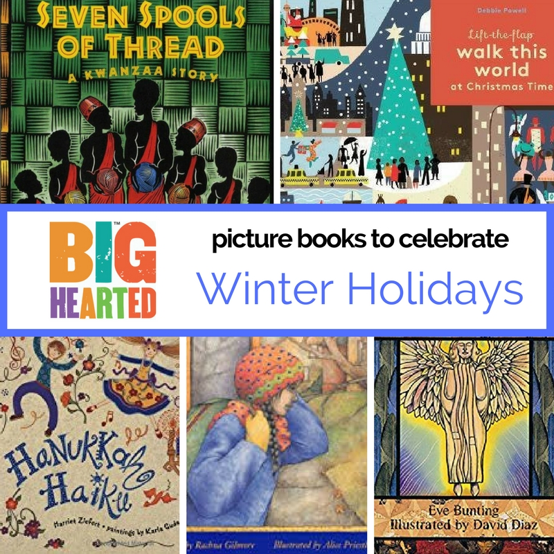 An evolving list of picture books celebrating winter holidays
