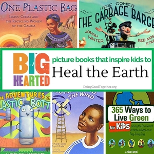 Heal the Earth picture books