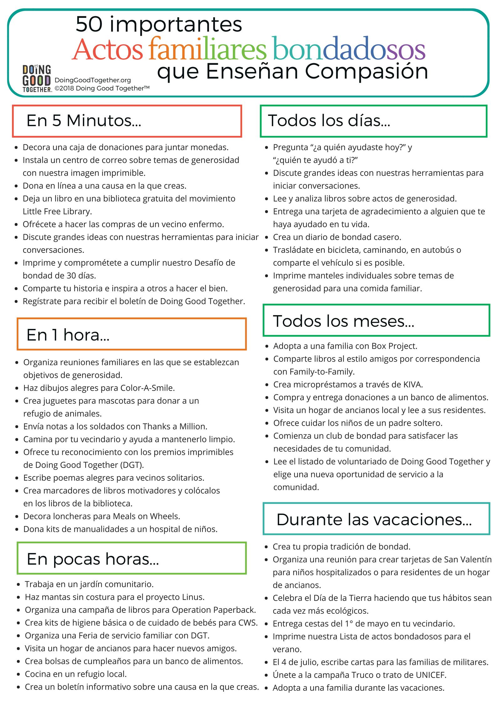 Click to print the Spanish verison.