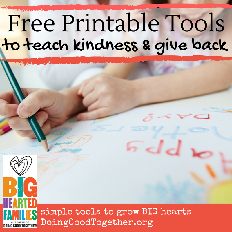 Discover tools to inspire your next family act of kindness, service project, family meeting, and so much more!