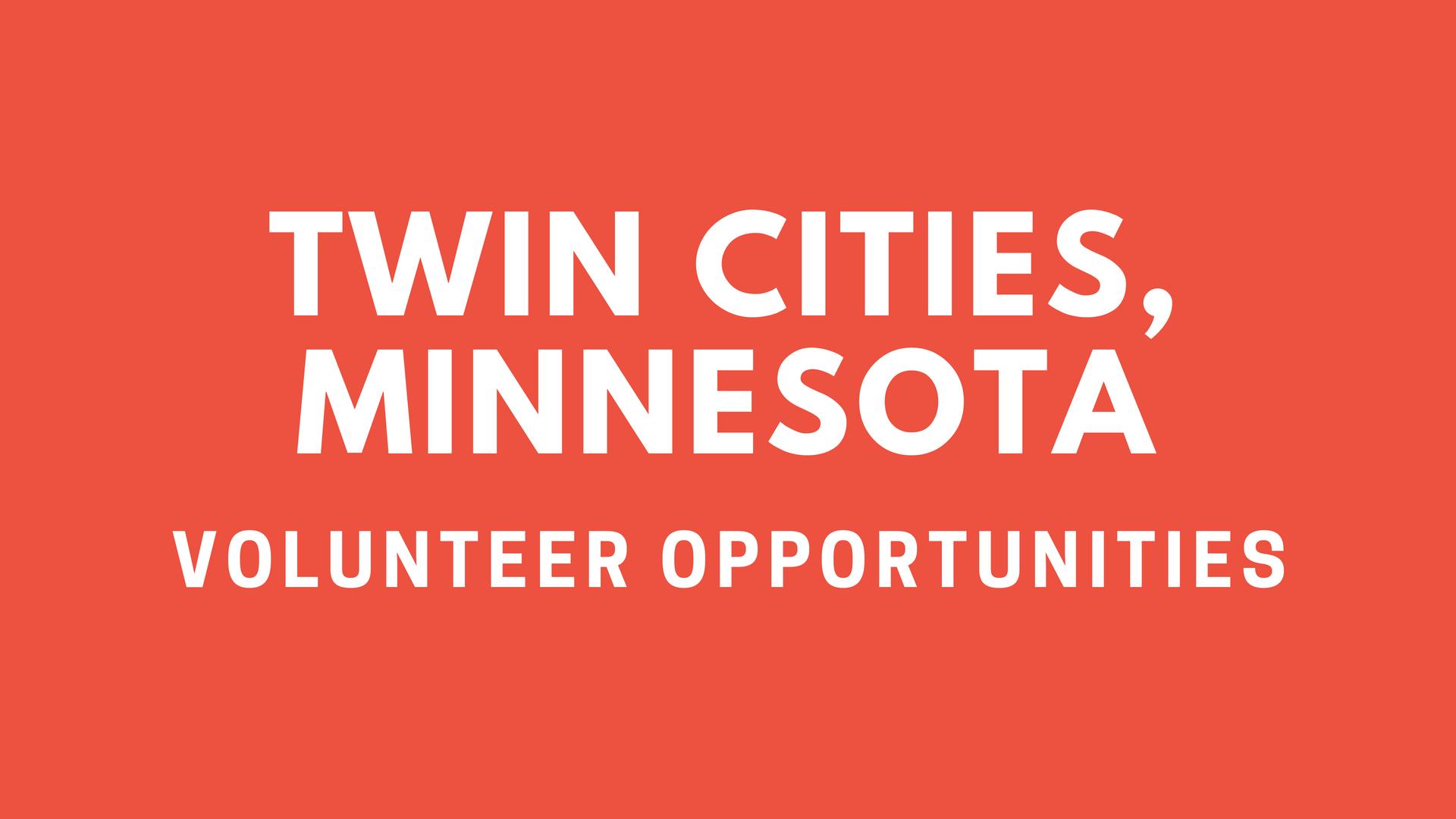 Twin Cities Volunteering