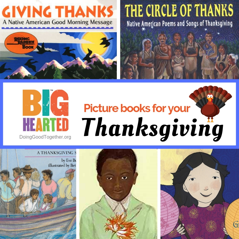 Picture Books for Your Thanksgiving Table