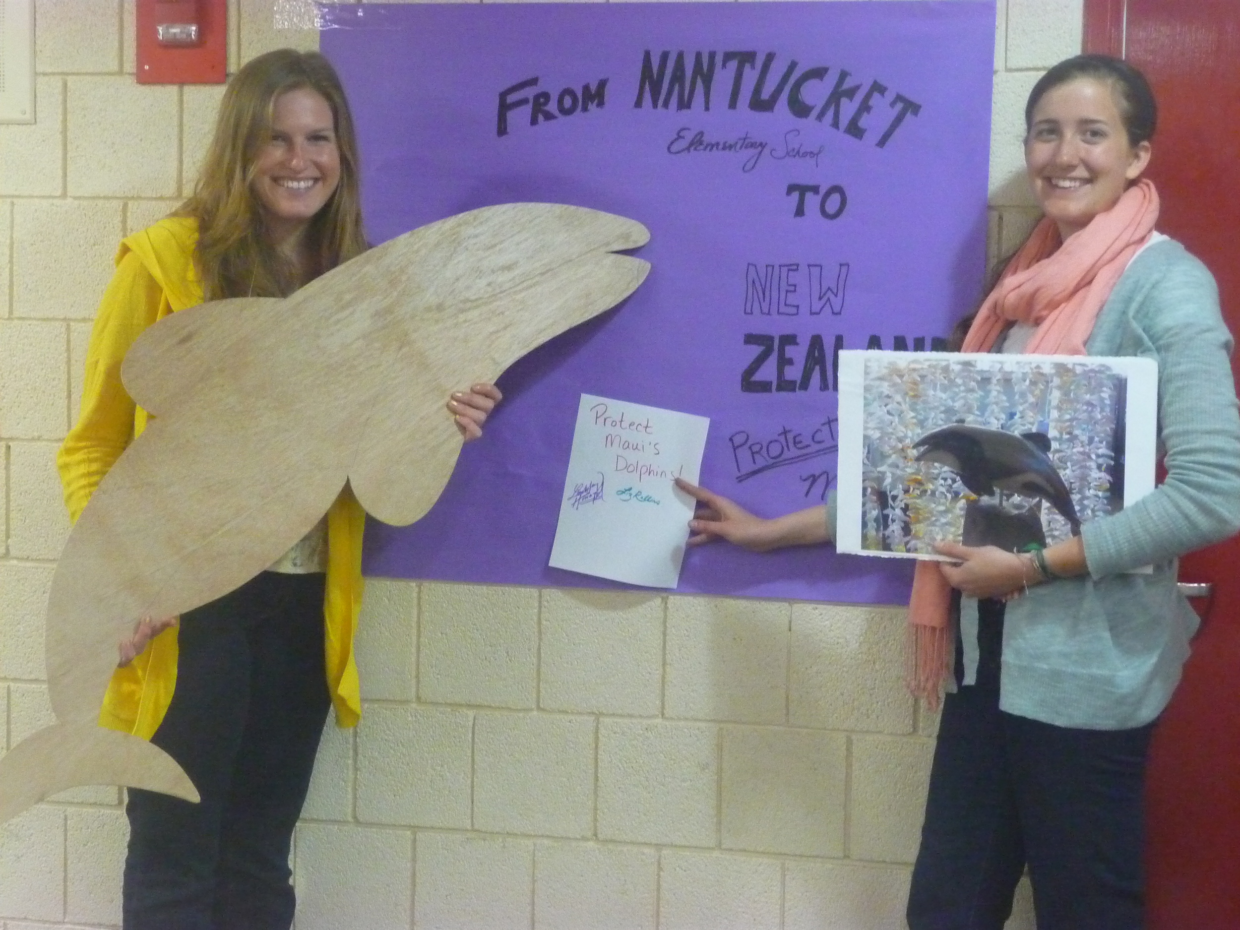 From Nantucket to New Zealand  (Nantucket Elementary School)