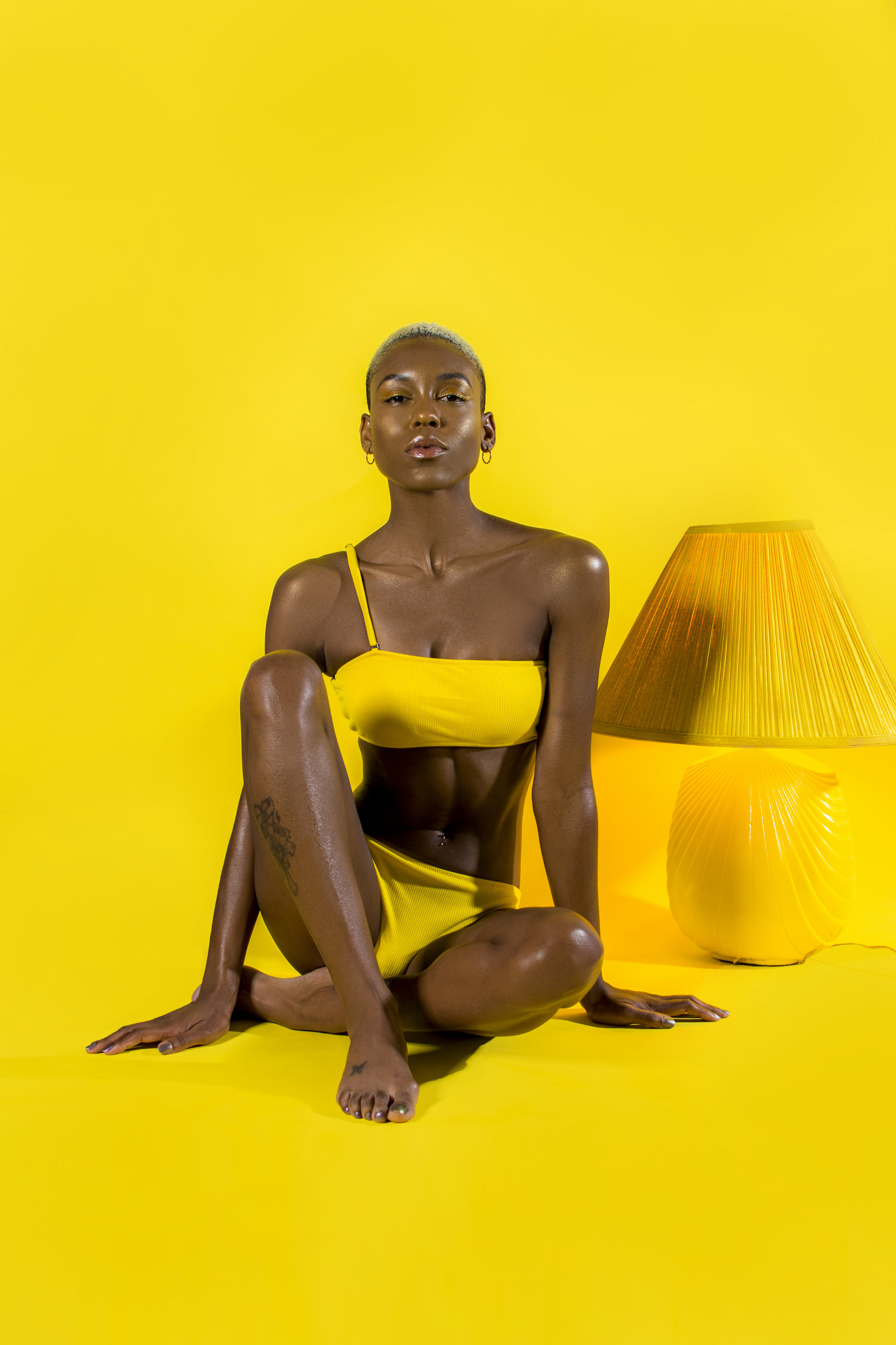 The Solar Plexus. - Also known as Manipura translated as the shinning gem. The solar plexus empowers you to follow your true path and not be distracted by anything in the way of it. This chakra is all about having personal power it also gives you increases in awarenesss and clarity.