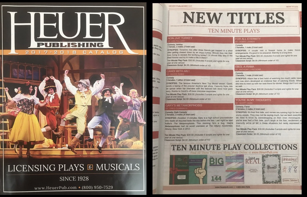 Heuer Publishing Catalog Of Plays & Musicals