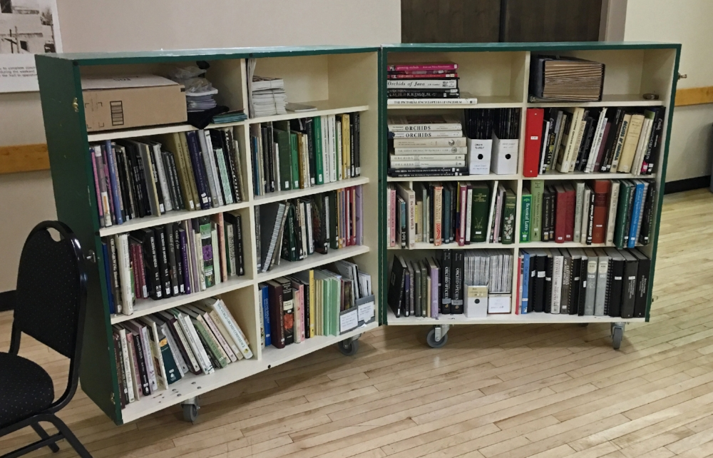 Our library of orchid publications.