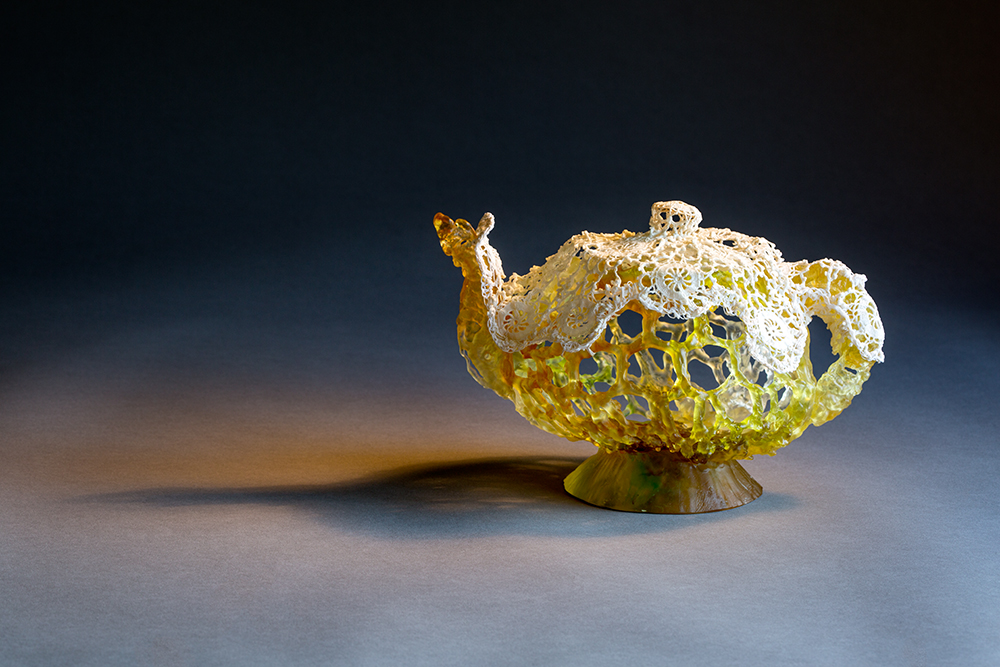 The Lace Teapot