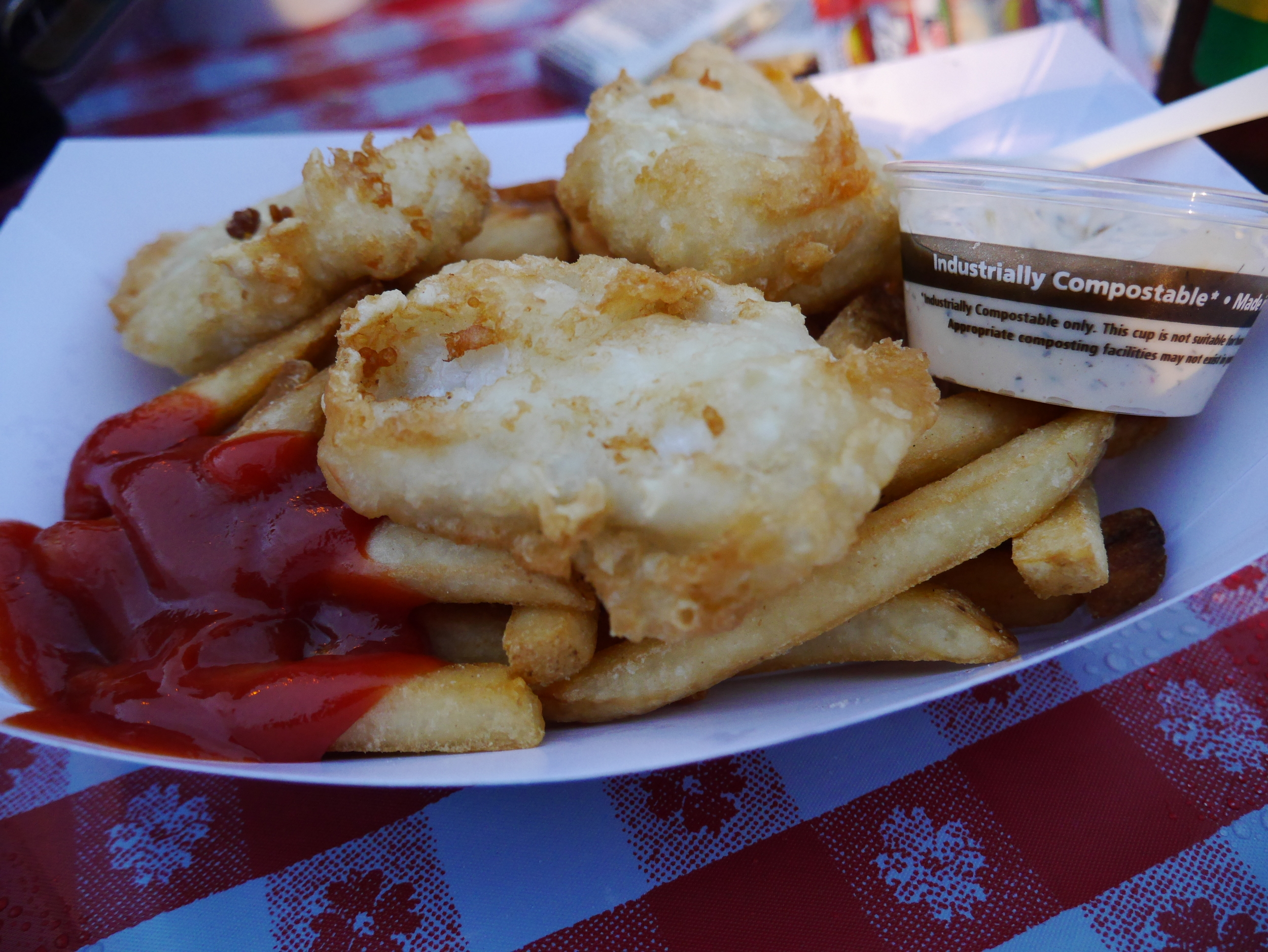Sustenance! Fish and Chips!