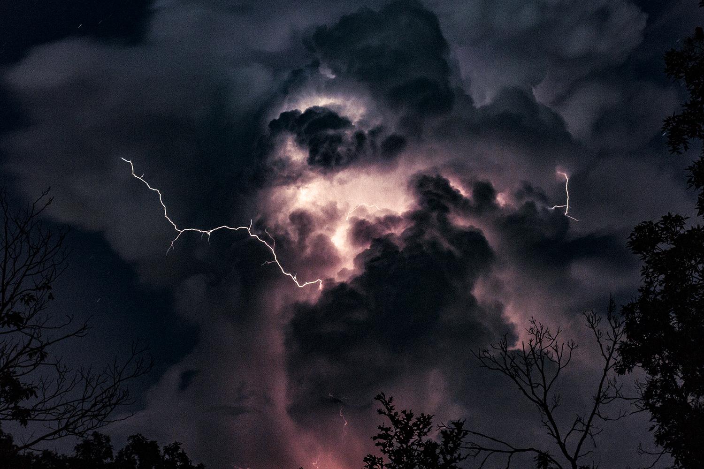 Thunderhead, 2015  Kansas, United States  50mm f/1.4 30 sec ISO 640