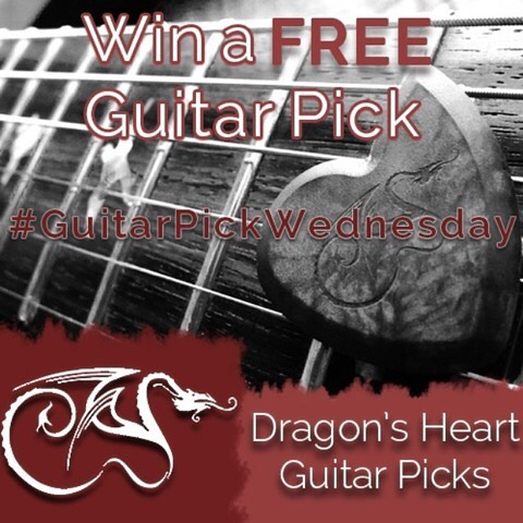 Congratulations to Michael Halenar, the winner of last weeks #GuitarPickWednesday. I regret to inform those following this contest that there will be no new contest due to unforeseen technical issues.  Hopefully I will be able resolve these issues and resume the contest in the future.  Thank you to all for your patience and support.
