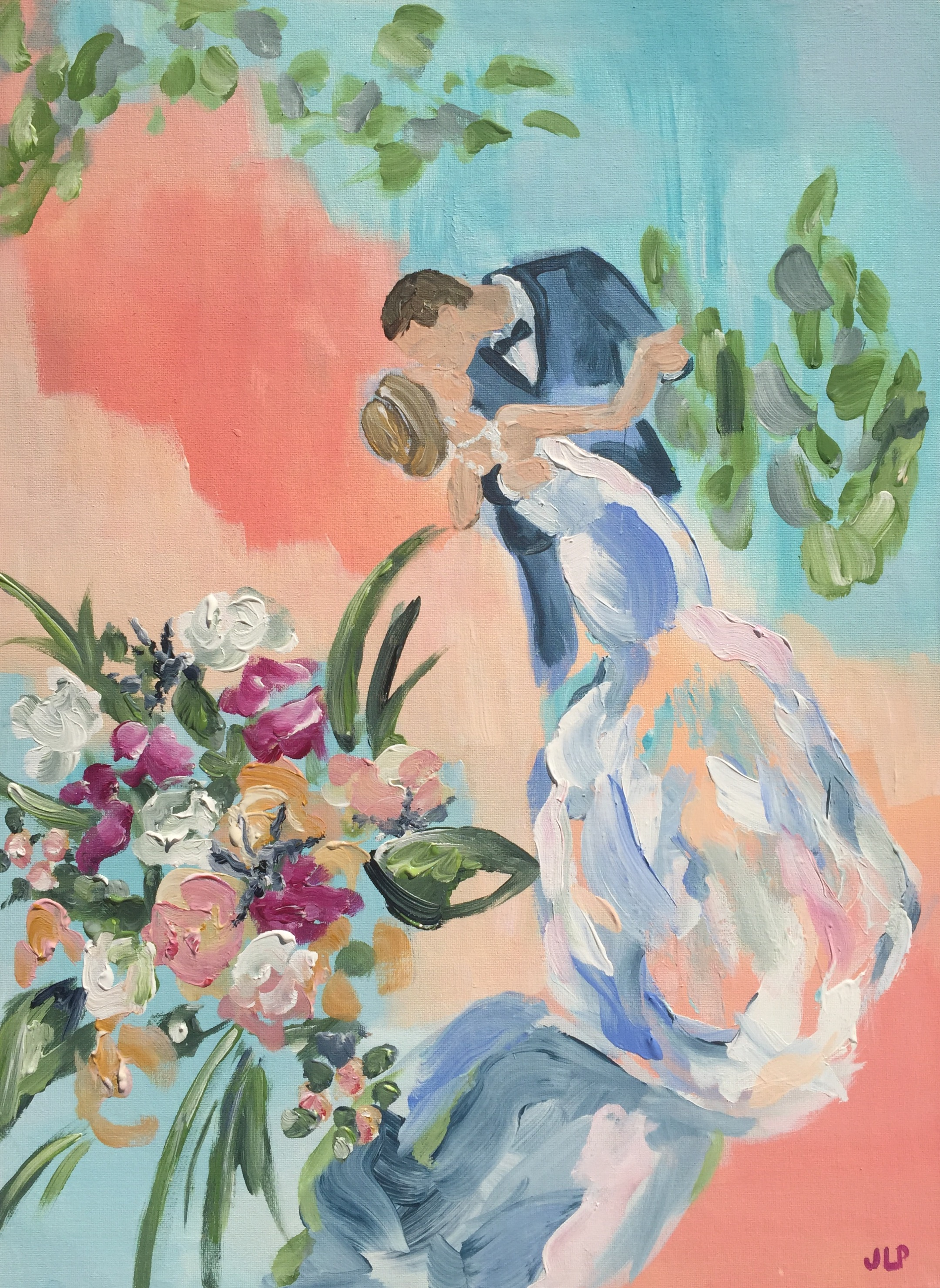 First Dance 18x24in.