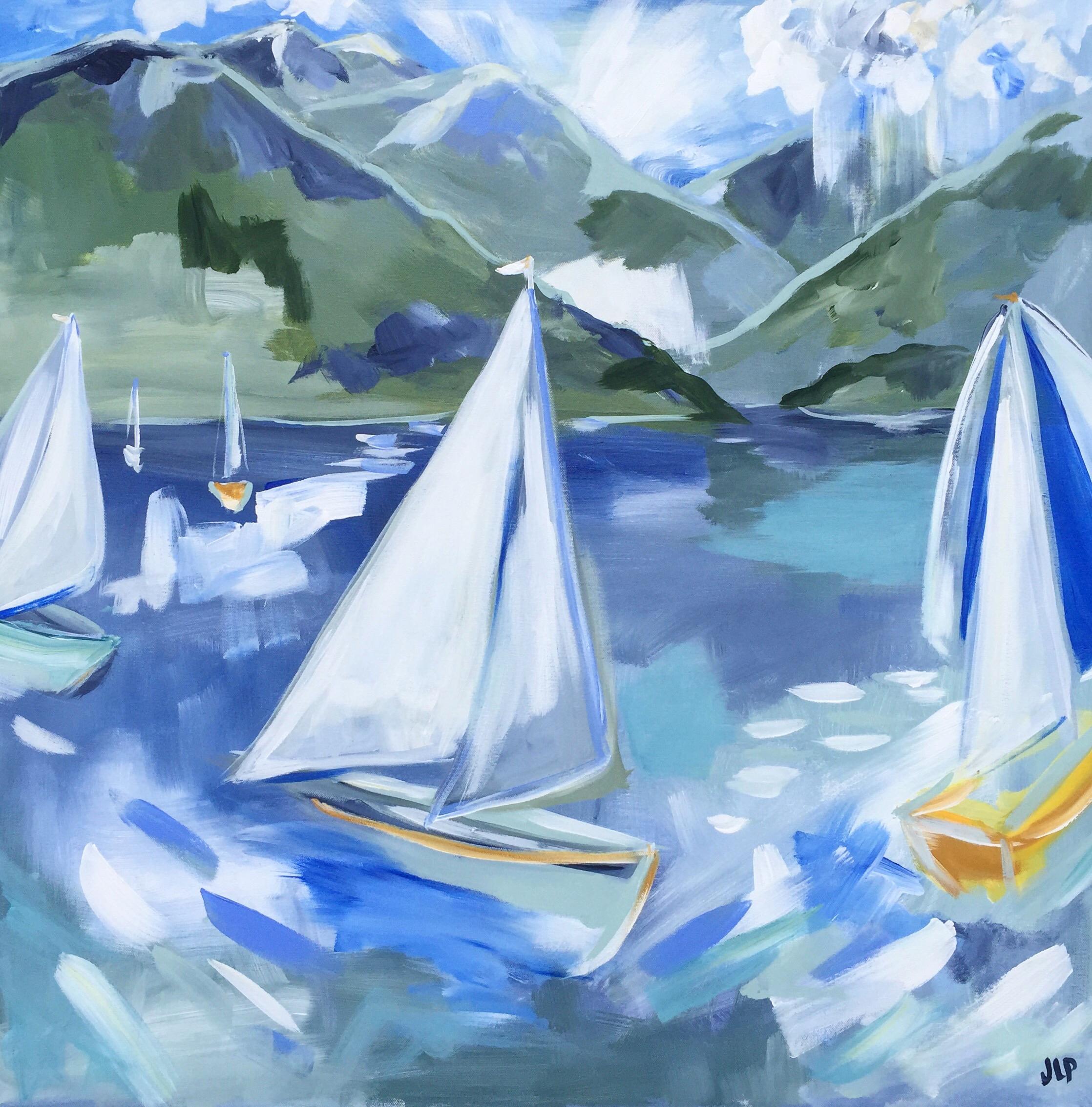 Live Painting at Sailing Gala